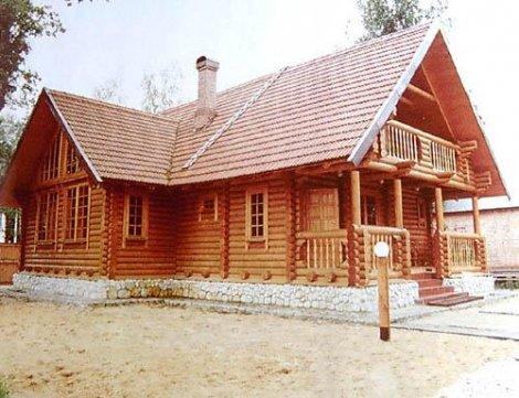 Дом из строганного бревна D-180