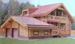 Дом из строганного бревна D-201